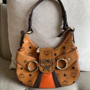 Authentic mcm Vicetos shoulder bag